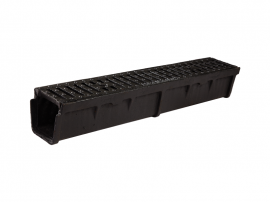 CHANNEL & GRATING FOR SEWERS (FRD12) WITH VERTICAL OUTPUT